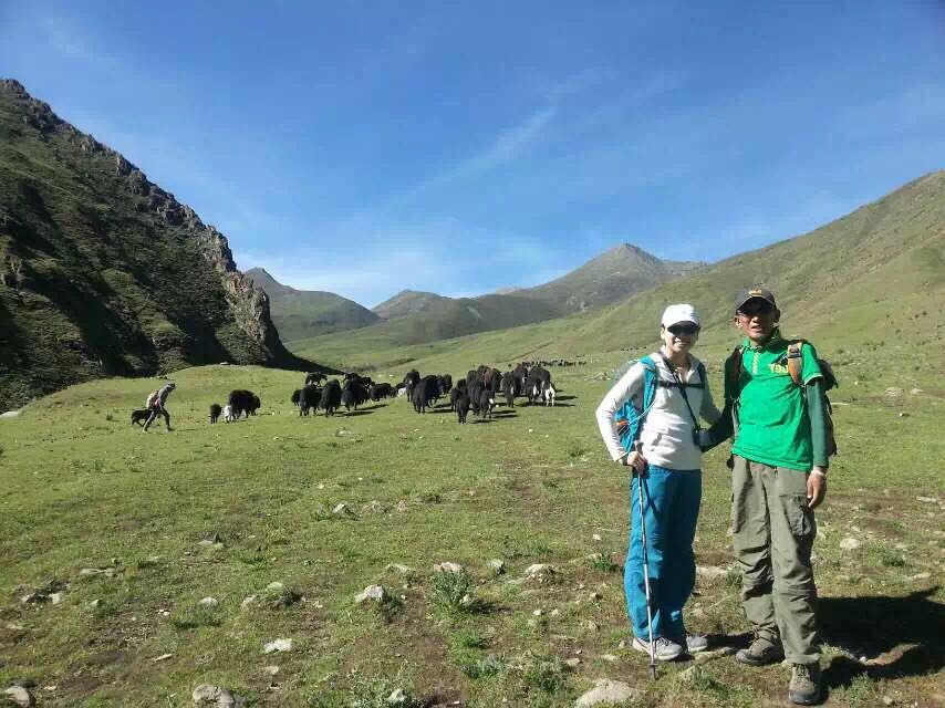 Ganden to Samye trekking with Tibet Highland Tours, an eco tour operator based in Lhasa