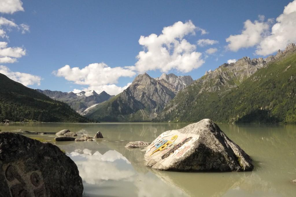 Holy lake Yilung Latsho