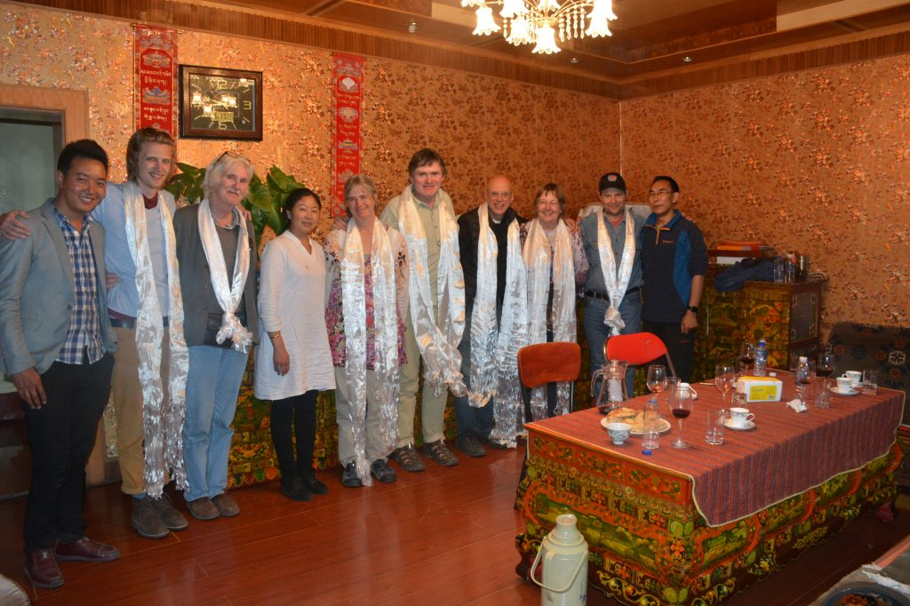 Home dinner in Tibet with Songtsen Travel