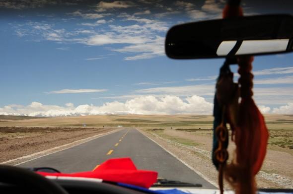 Just driving through Tibet