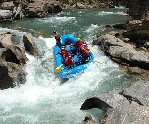 Drigung Chu Whitewater Rafting Tibet