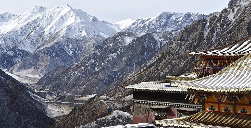Ghar monastery in Kham, Tibet