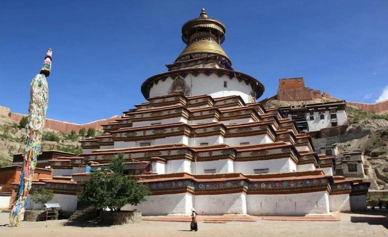 Kumbum in Tibet