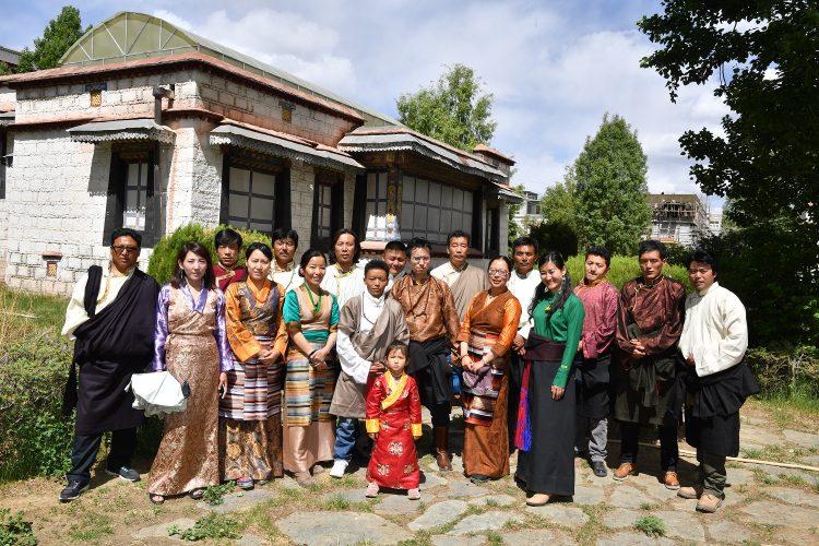 Staff of Tibet Universal Travel in Lhasa