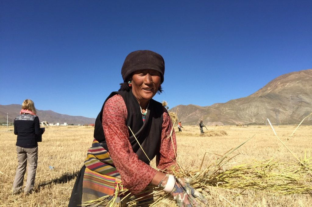 Experiencing village life as ecotourism activity by i-Tibet Travel