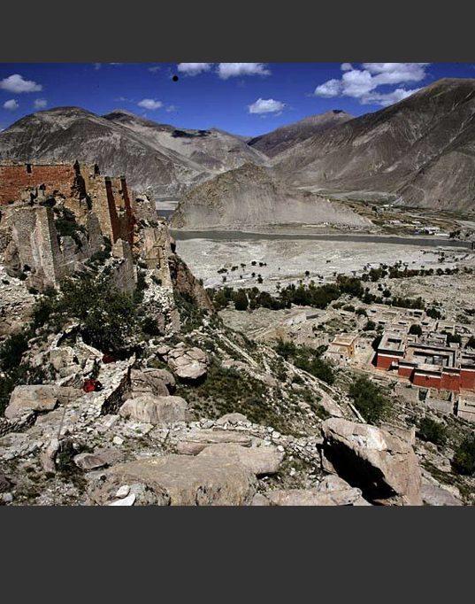 Phuntsoling Monastery at Saka Dawa Festival with Tibetan Guide Travel