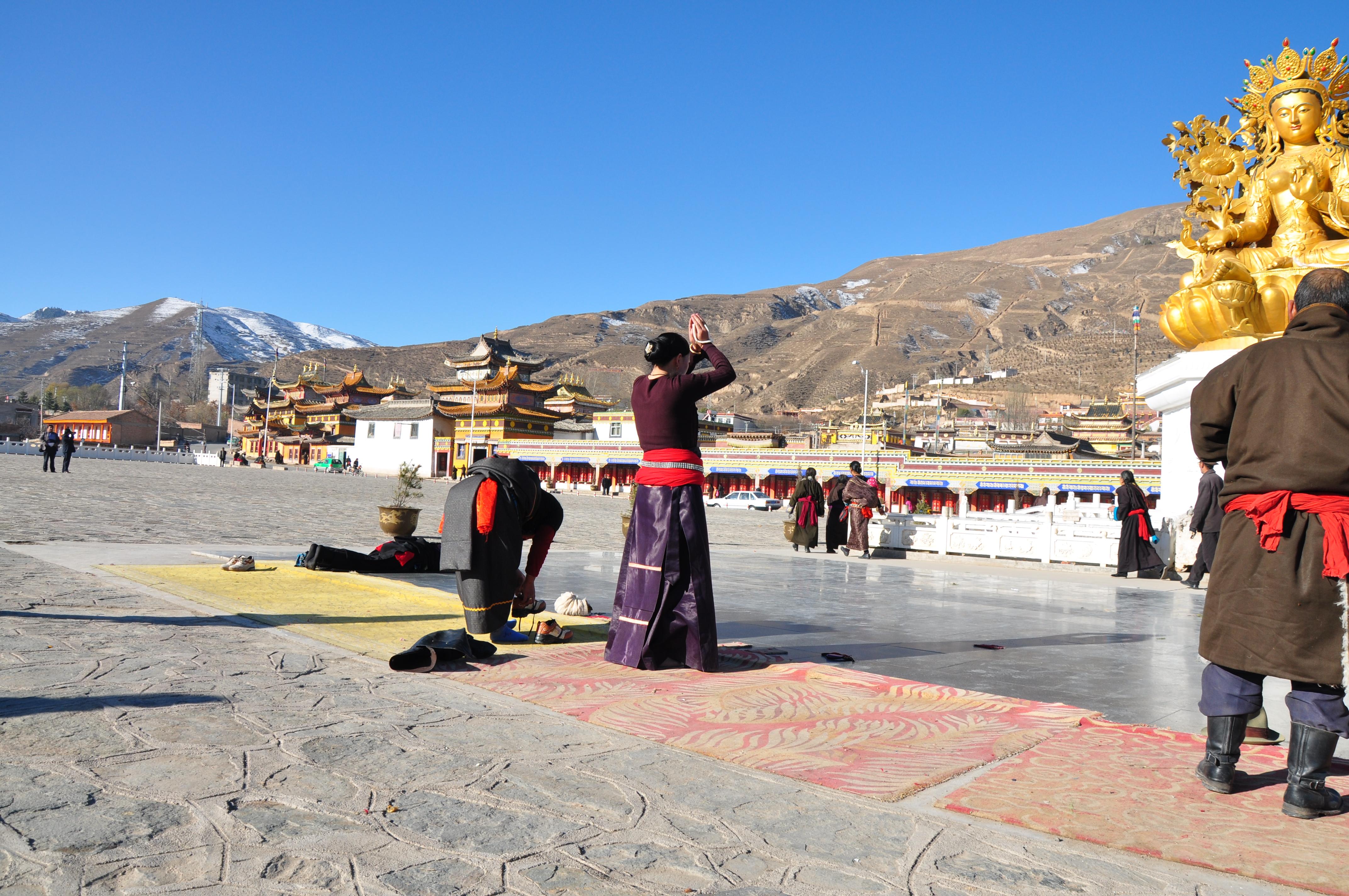 Rechung monastery, Amdo Tibet