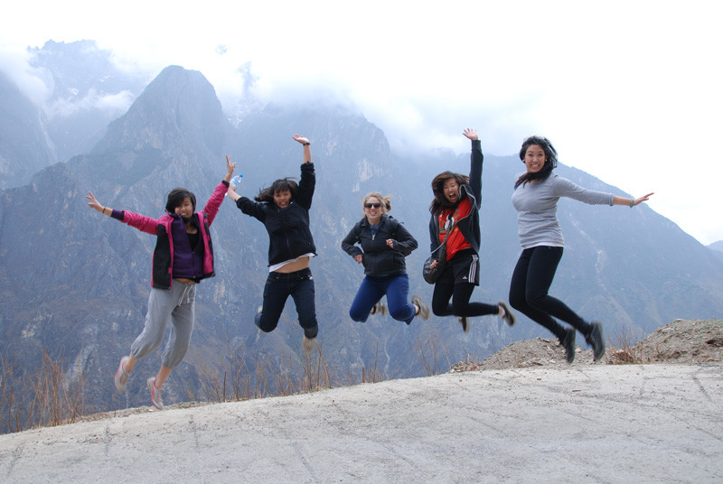 Having a great time in Tibet